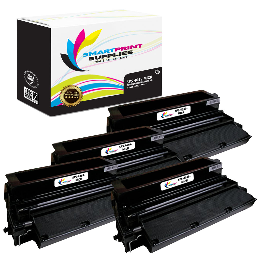 Lexmark 4059 MICR Replacement Black Toner Cartridge by Smart Print Supplies /17600 Pages