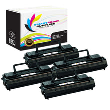 4 Pack Lexmark 69G8256 Replacement Black Toner Cartridge by Smart Print Supplies