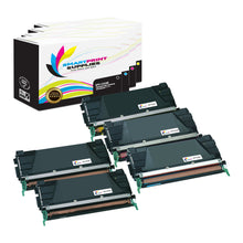 5 Pack Lexmark C534 Replacement (CMYK) Toner Cartridge by Smart Print Supplies