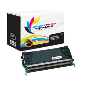 Lexmark C534HK Replacement Black Toner Cartridge by Smart Print Supplies /8000 Pages
