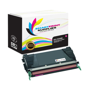 Lexmark C534HM Replacement Magenta Toner Cartridge by Smart Print Supplies /5000 Pages