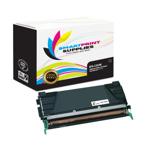 Lexmark C534K Replacement Black Toner Cartridge by Smart Print Supplies /4000 Pages