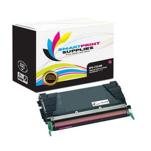 Lexmark C534M Replacement Magenta Toner Cartridge by Smart Print Supplies /3000 Pages