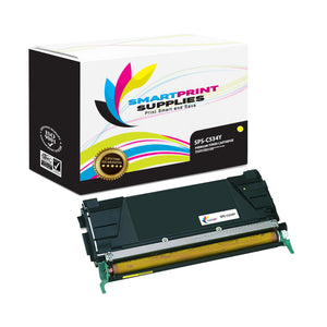 Lexmark C534Y Replacement Yellow Toner Cartridge by Smart Print Supplies /3000 Pages