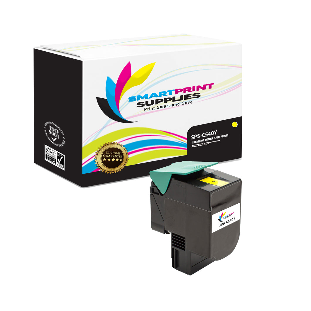 Lexmark C540 Replacement Yellow Toner Cartridge by Smart Print Supplies