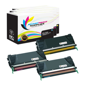 Lexmark C734 Replacement 3 Colors Toner Cartridge by Smart Print Supplies /6000 Pages