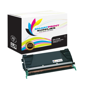 Lexmark C734K Replacement Black Toner Cartridge by Smart Print Supplies /8000 Pages