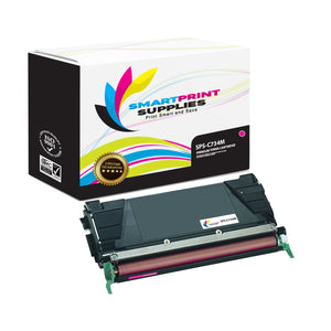 Lexmark C734M Replacement Magenta Toner Cartridge by Smart Print Supplies /6000 Pages