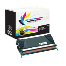 Lexmark C736 Replacement Cyan Toner Cartridge by Smart Print Supplies