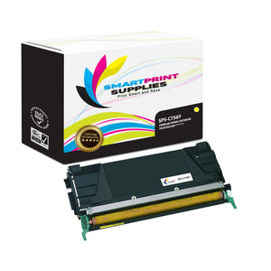 Lexmark C736 Replacement Yellow Toner Cartridge by Smart Print Supplies
