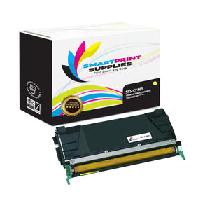 Lexmark C746 Replacement Yellow Toner Cartridge by Smart Print Supplies