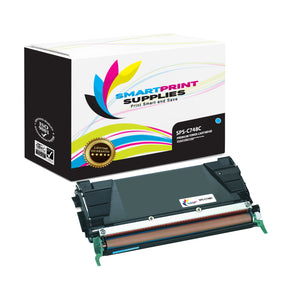 Lexmark C748 Replacement Cyan Toner Cartridge by Smart Print Supplies
