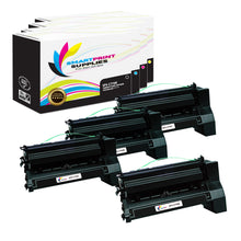 4 Pack Lexmark C770 Replacement (CMYK) Toner Cartridge by Smart Print Supplies