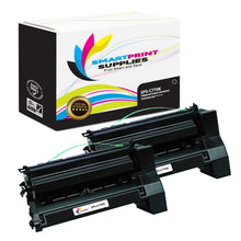 2 Pack Lexmark C770 Replacement Black Toner Cartridge by Smart Print Supplies