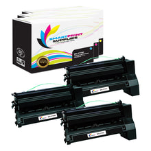 3 Pack Lexmark C770 Replacement (CMY) Toner Cartridge by Smart Print Supplies