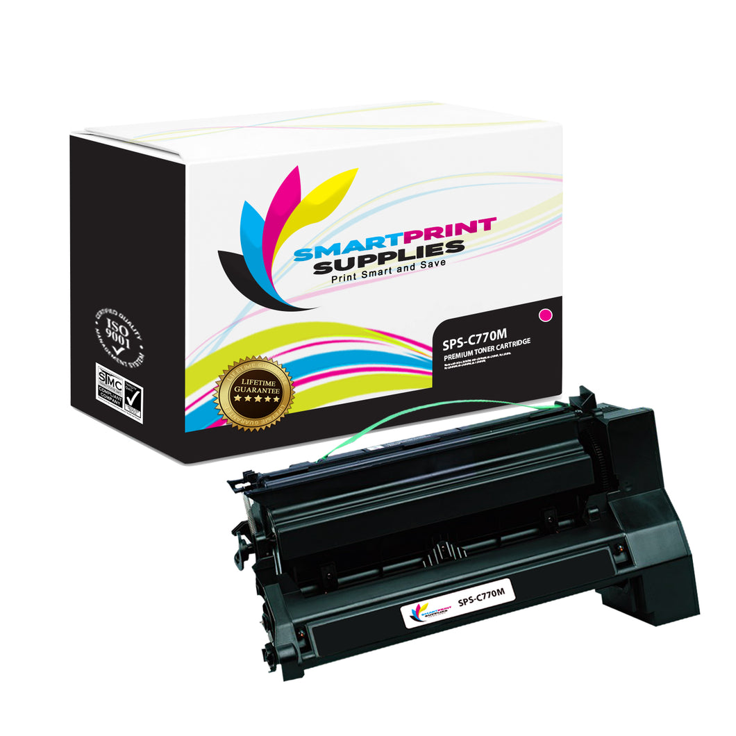 Lexmark C770 Replacement Magenta Toner Cartridge by Smart Print Supplies