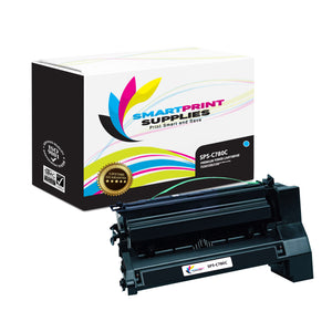 Lexmark C780 Replacement Cyan Toner Cartridge by Smart Print Supplies