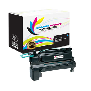 Lexmark C792A1CG Replacement Cyan Toner Cartridge by Smart Print Supplies