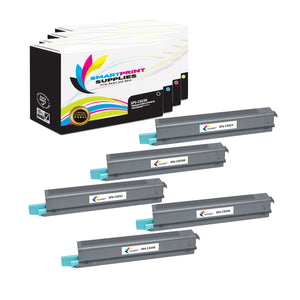 5 Pack Lexmark C925 Replacement (CMYK) Toner Cartridge by Smart Print Supplies