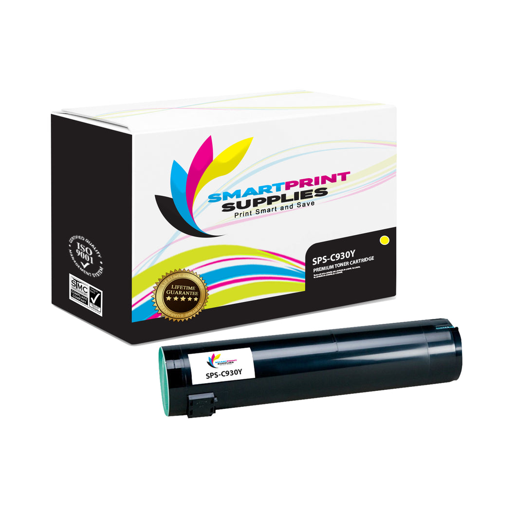 Lexmark C930 Replacement Yellow Toner Cartridge by Smart Print Supplies