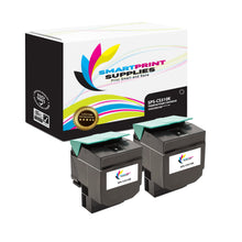 2 Pack Lexmark CS310 Replacement (CMYK) Toner Cartridge by Smart Print Supplies