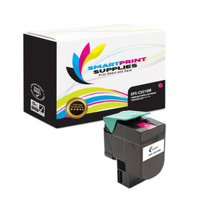 Lexmark CS510 Replacement Magenta Toner Cartridge by Smart Print Supplies