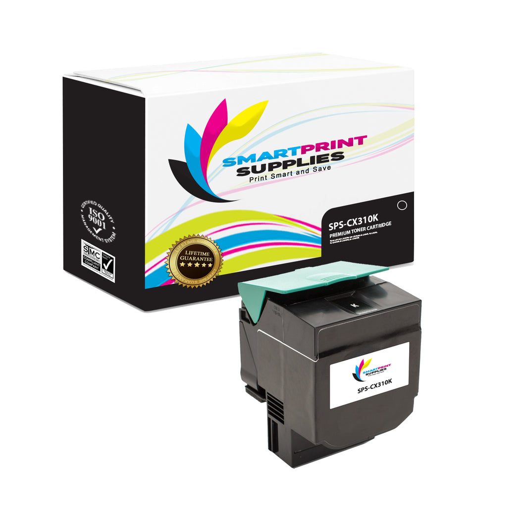 Lexmark CX310 Replacement Black Toner Cartridge by Smart Print Supplies