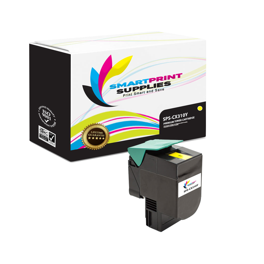Lexmark CX310 Replacement Yellow Toner Cartridge by Smart Print Supplies