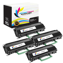 4 Pack Lexmark E240 Replacement Black Toner Cartridge by Smart Print Supplies
