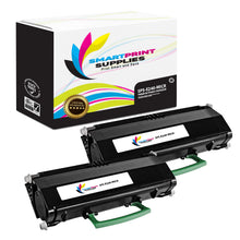 2 Pack Lexmark E240 Replacement Black MICR Toner Cartridge by Smart Print Supplies