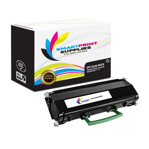 Lexmark E240 Replacement Black MICR Toner Cartridge by Smart Print Supplies