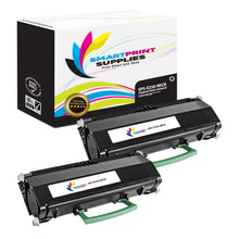 2 Pack Lexmark E250 Replacement Black MICR Toner Cartridge by Smart Print Supplies