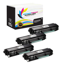 4 Pack Lexmark E320 Replacement Black MICR Toner Cartridge by Smart Print Supplies