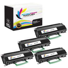4 Pack Lexmark E330 Replacement Black Toner Cartridge by Smart Print Supplies