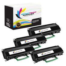 4 Pack Lexmark E330 Replacement Black MICR Toner Cartridge by Smart Print Supplies