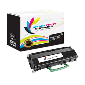 Lexmark E350 Replacement Black MICR Toner Cartridge by Smart Print Supplies