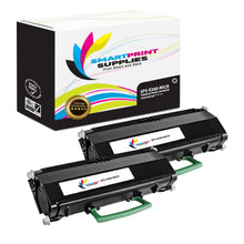 2 Pack Lexmark E360 Replacement Black MICR Toner Cartridge by Smart Print Supplies