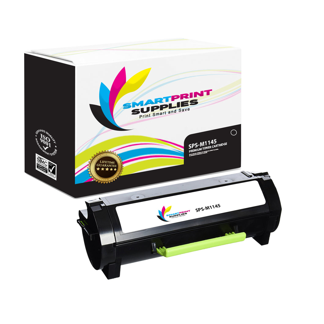Lexmark M1145 Replacement Black Toner Cartridge by Smart Print Supplies