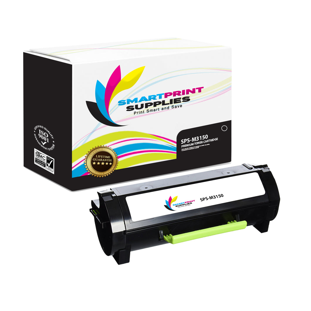 Lexmark M3150 Replacement Black Toner Cartridge by Smart Print Supplies