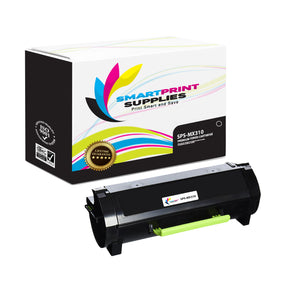 Lexmark MX310 Replacement Black Toner Cartridge by Smart Print Supplies
