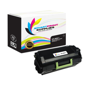 Lexmark MX811 Replacement Black Toner Cartridge by Smart Print Supplies