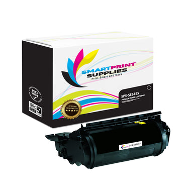 1 Pack Lexmark SE3455 Premium Replacement Black Toner Cartridge by Smart Print Supplies
