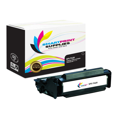 1 Pack Lexmark T420 Premium Replacement Black Toner Cartridge by Smart Print Supplies