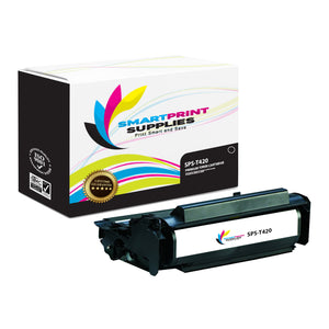 Lexmark T420 Premium Replacement Black Toner Cartridge by Smart Print Supplies