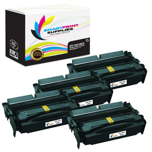 4 Pack Lexmark T430 Replacement Black MICR Toner Cartridge by Smart Print Supplies