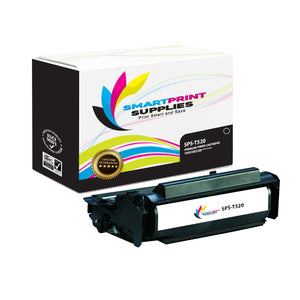 Lexmark T520 Replacement Black Toner Cartridge by Smart Print Supplies