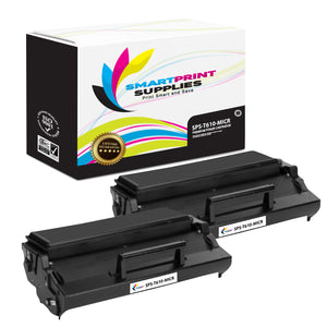 2 Pack Lexmark T610 MICR Replacement Black Toner Cartridge by Smart Print Supplies /25000 Pages