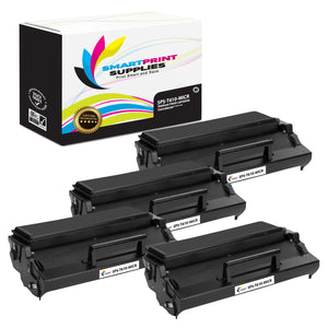 4 Pack Lexmark T610 MICR Replacement Black Toner Cartridge by Smart Print Supplies /25000 Pages