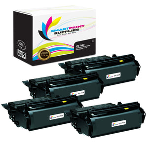 4 Pack Lexmark T620 Replacement Black Toner Cartridge by Smart Print Supplies