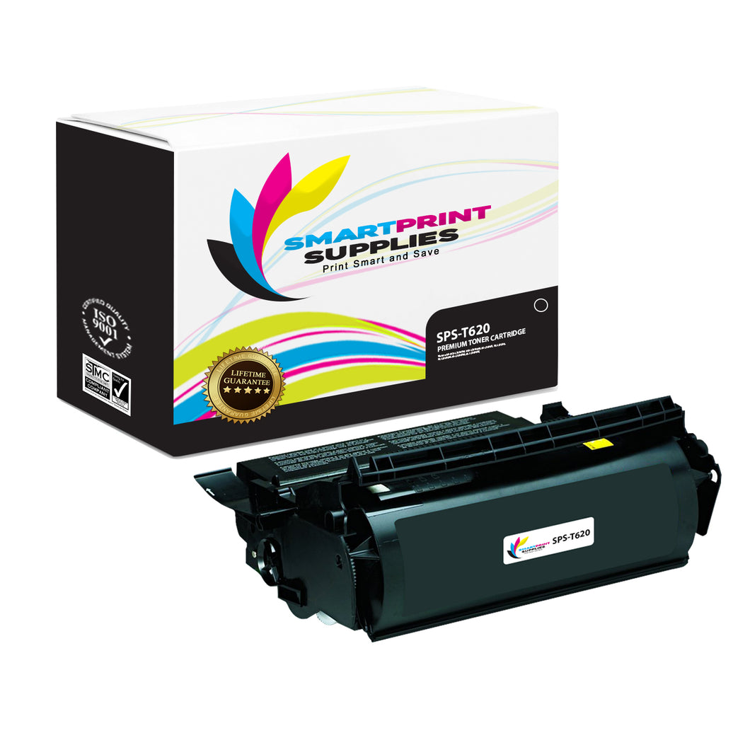 Lexmark T620 Replacement Black Toner Cartridge by Smart Print Supplies